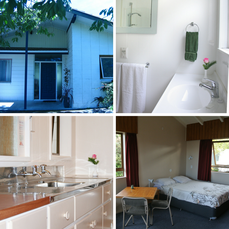 The flat accommodation tauhara retreat