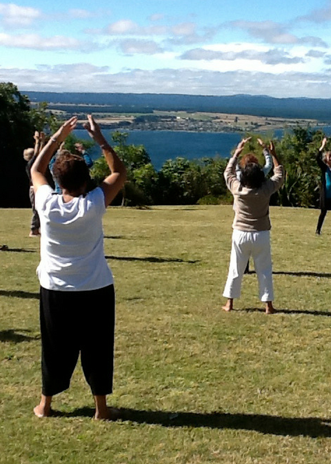 tauhara outdoor tai chi yoga