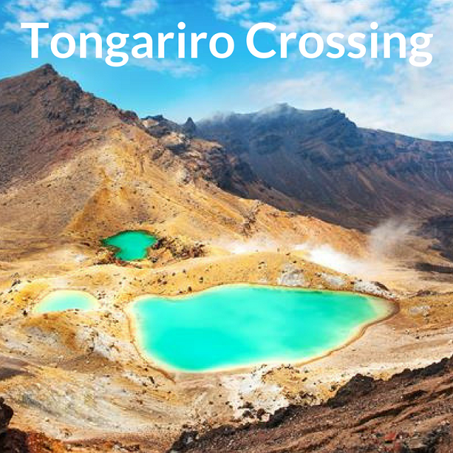 Tongariro Crossing what to do around Taupo